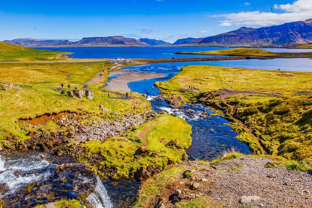冰岛Kirkjufellsfoss,小瀑布小溪水_图1-17