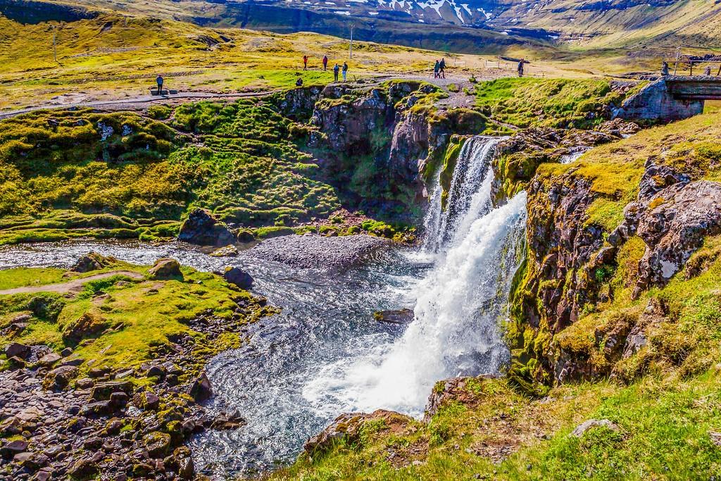 冰岛Kirkjufellsfoss,小瀑布小溪水_图1-24