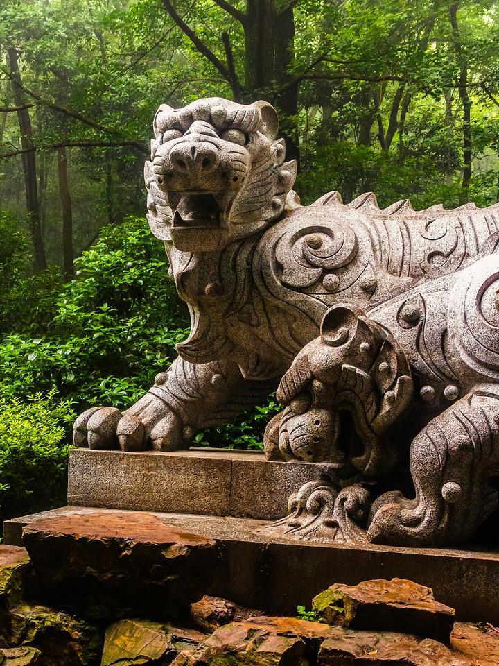 杭州虎跑,一个神话传说_图1-14