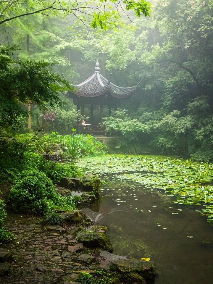 杭州虎跑,一个神话传说_图1-5