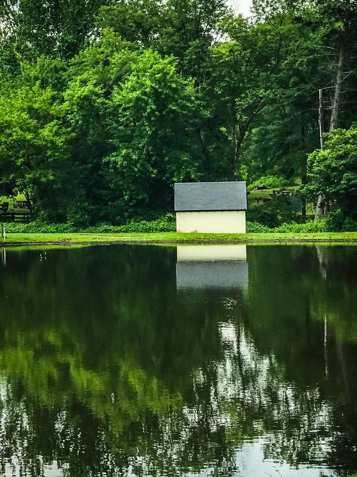 滨州Willows park,湖中喷泉_图1-13