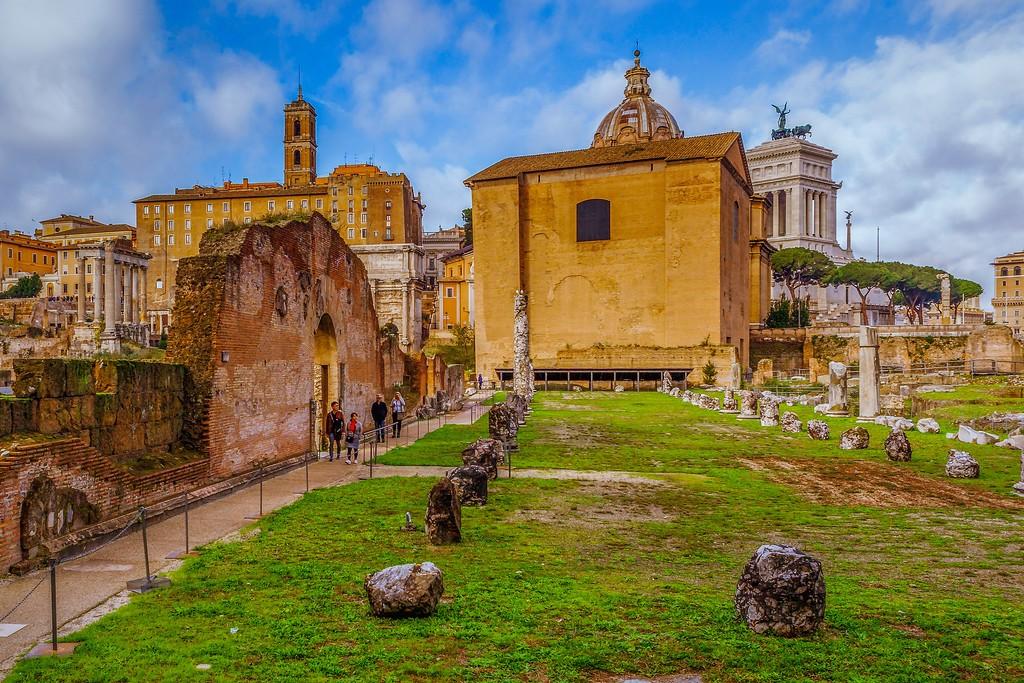 意大利罗马论坛,残墙破柱_图1-11