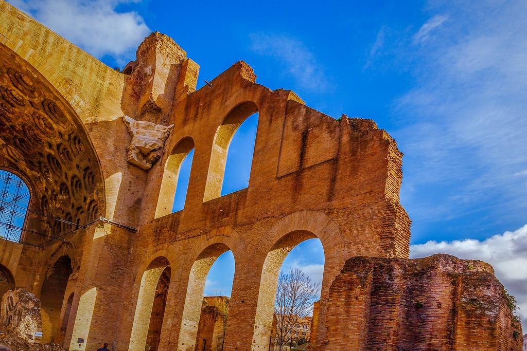 意大利罗马论坛,残墙破柱_图1-12