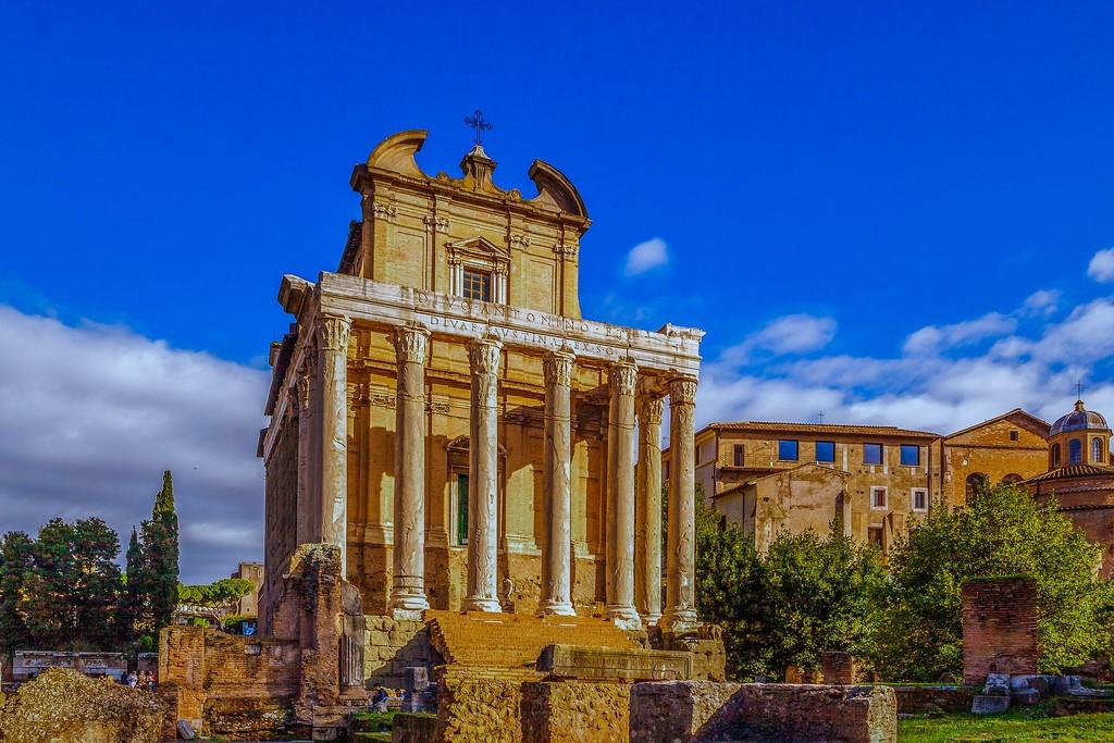 意大利罗马论坛,残墙破柱_图1-6