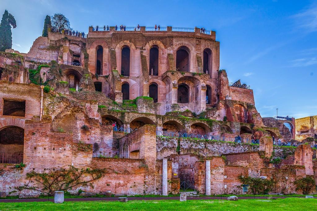 意大利罗马论坛,残墙破柱_图1-7