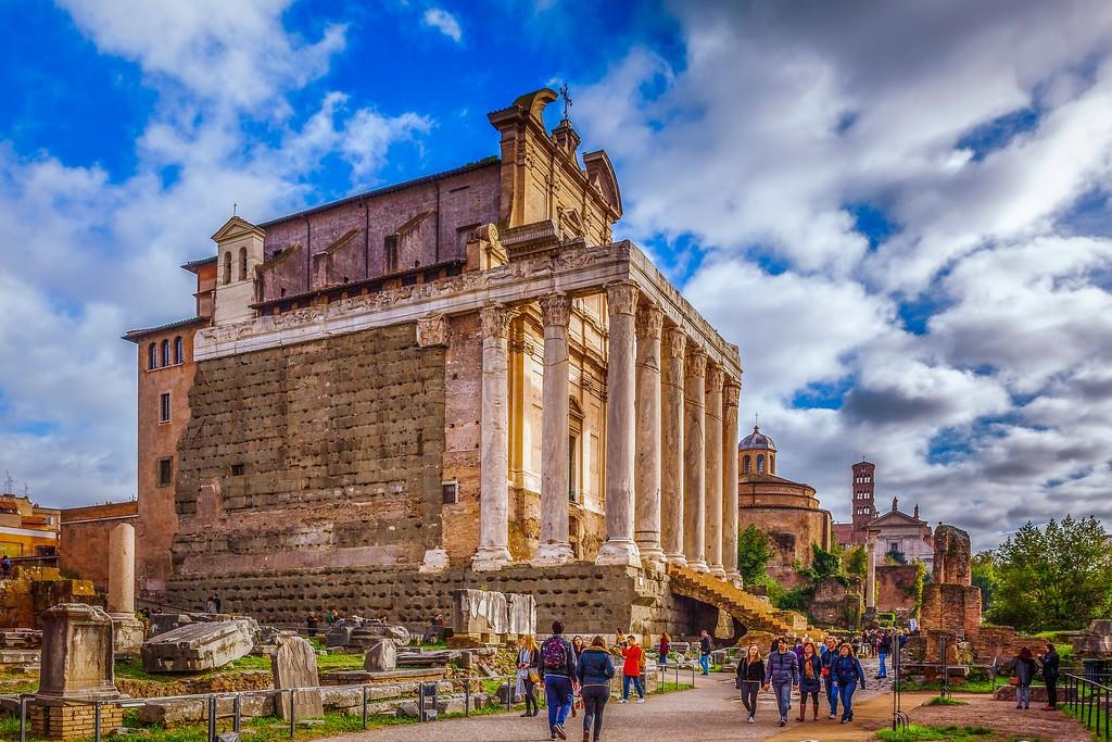 意大利罗马论坛,残墙破柱_图1-5