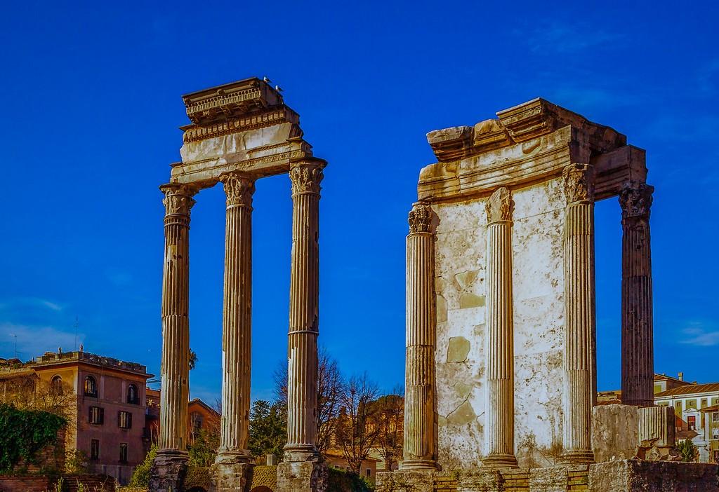 意大利罗马论坛,残墙破柱_图1-8