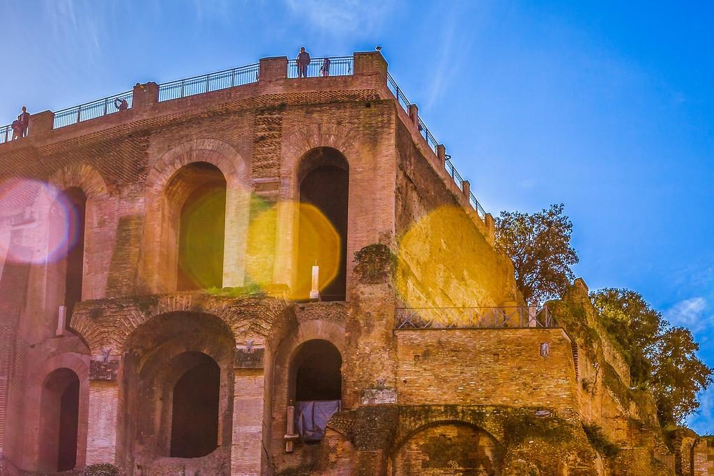 意大利罗马论坛,残墙破柱_图1-14