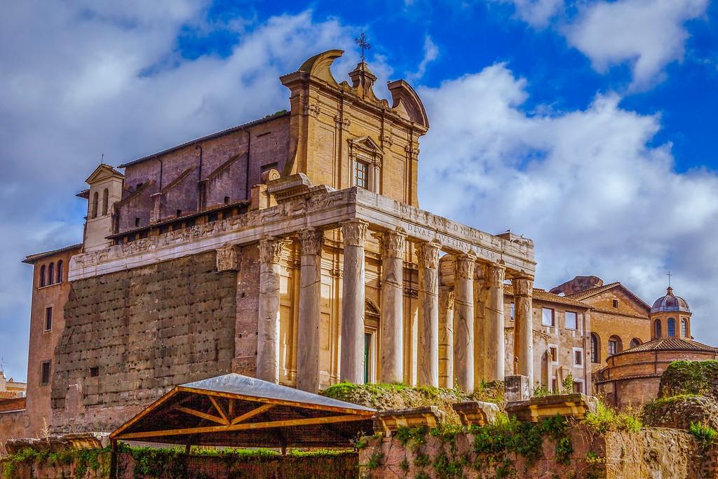 意大利罗马论坛,残墙破柱_图1-18