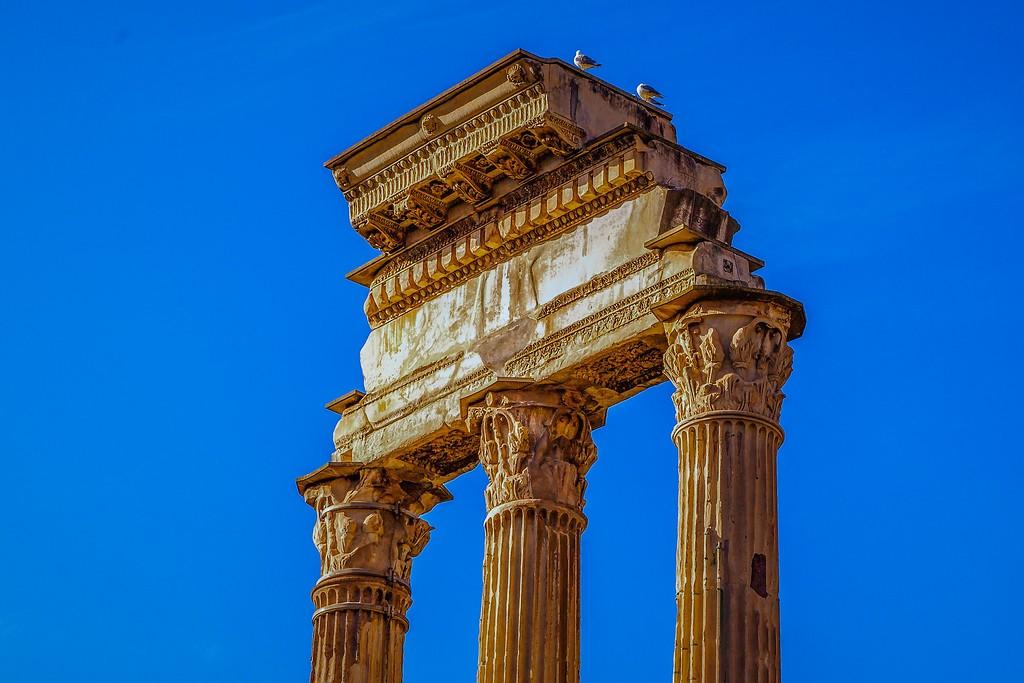 意大利罗马论坛,残墙破柱_图1-16