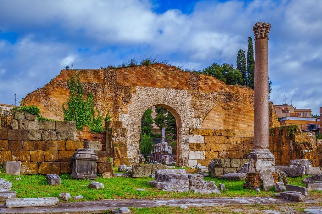意大利罗马论坛,残墙破柱_图1-4