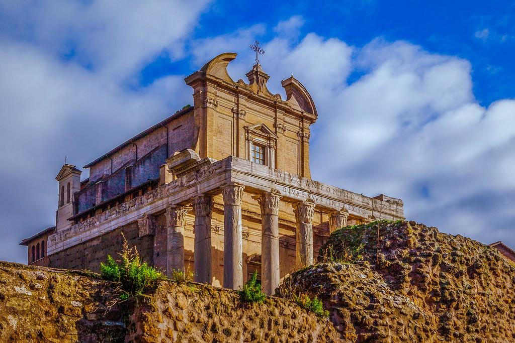 意大利罗马论坛,残墙破柱_图1-13