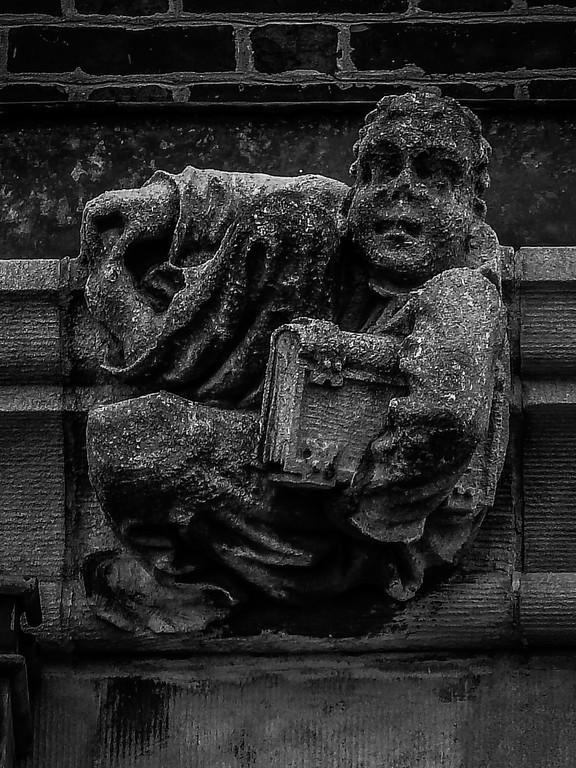美国费城宾夕法尼亚大学,想象力的雕塑_图1-13