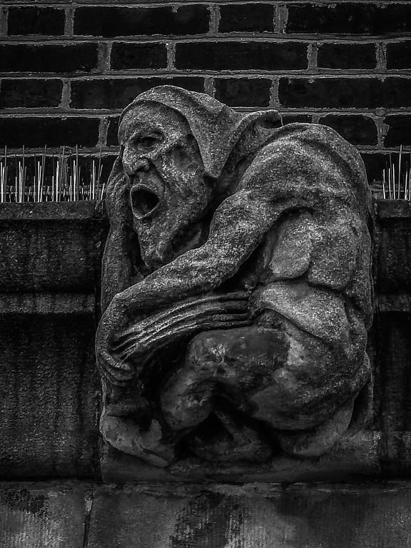 美国费城宾夕法尼亚大学,想象力的雕塑_图1-2