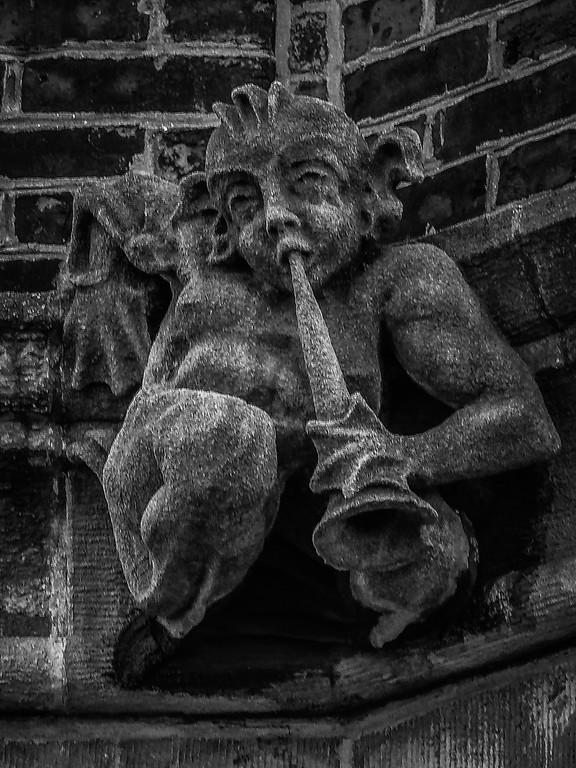 美国费城宾夕法尼亚大学,想象力的雕塑_图1-20