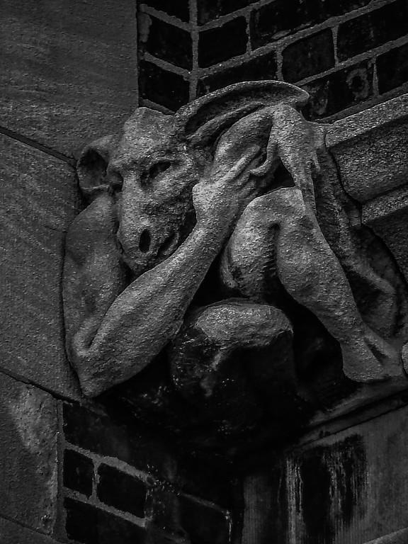 美国费城宾夕法尼亚大学,想象力的雕塑_图1-5