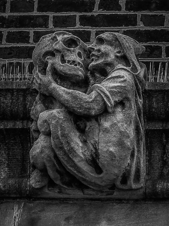 美国费城宾夕法尼亚大学,想象力的雕塑_图1-3