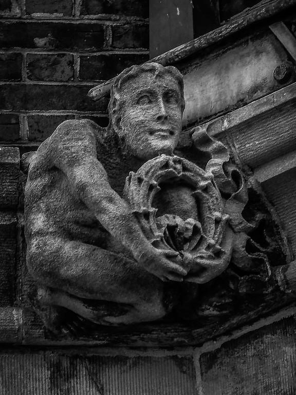 美国费城宾夕法尼亚大学,想象力的雕塑_图1-6