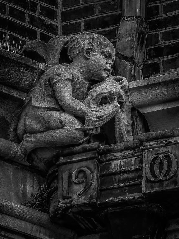 美国费城宾夕法尼亚大学,想象力的雕塑_图1-11