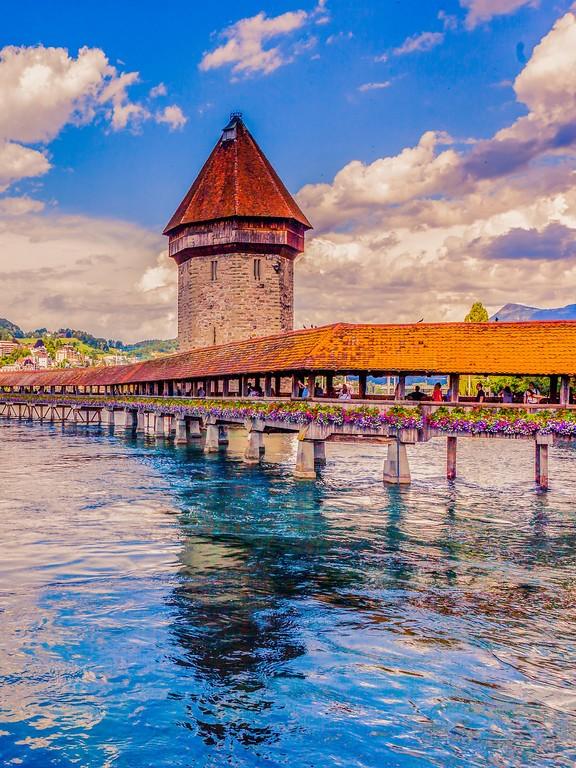 瑞士卢塞恩,热门旅游