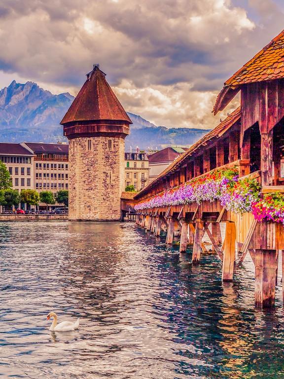 瑞士卢塞恩(Lucerne),热门旅游_图1-4