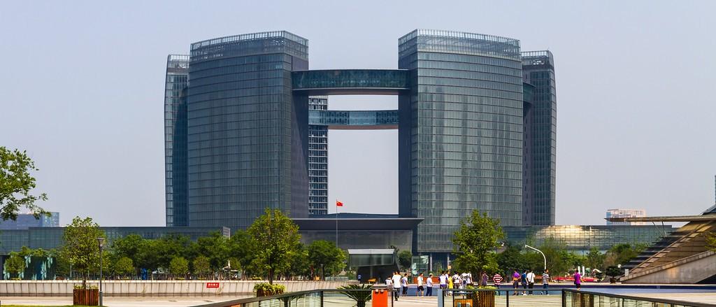 杭州古城,新地标