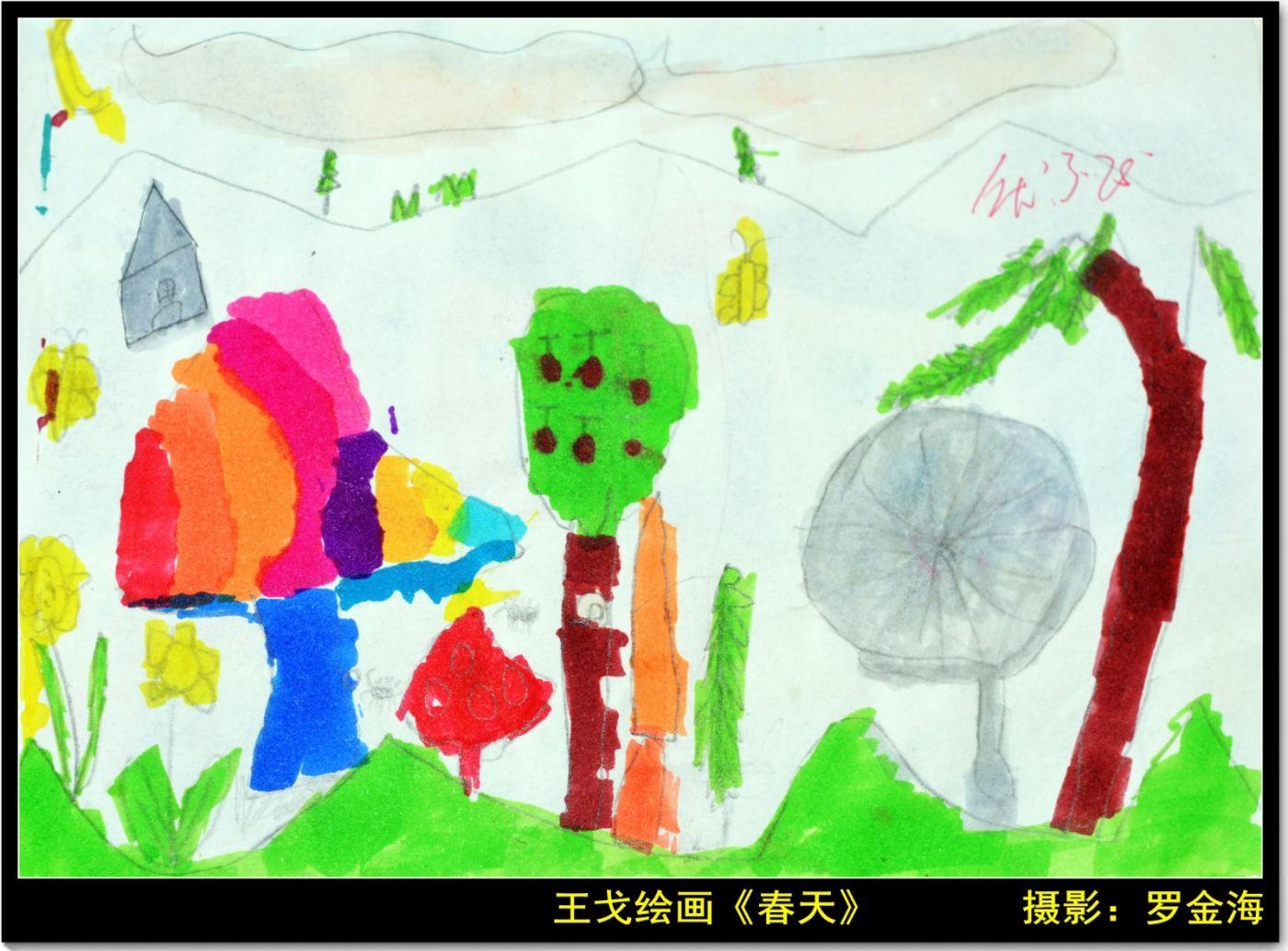 王戈的绘画欣赏(三)七律_图1-3