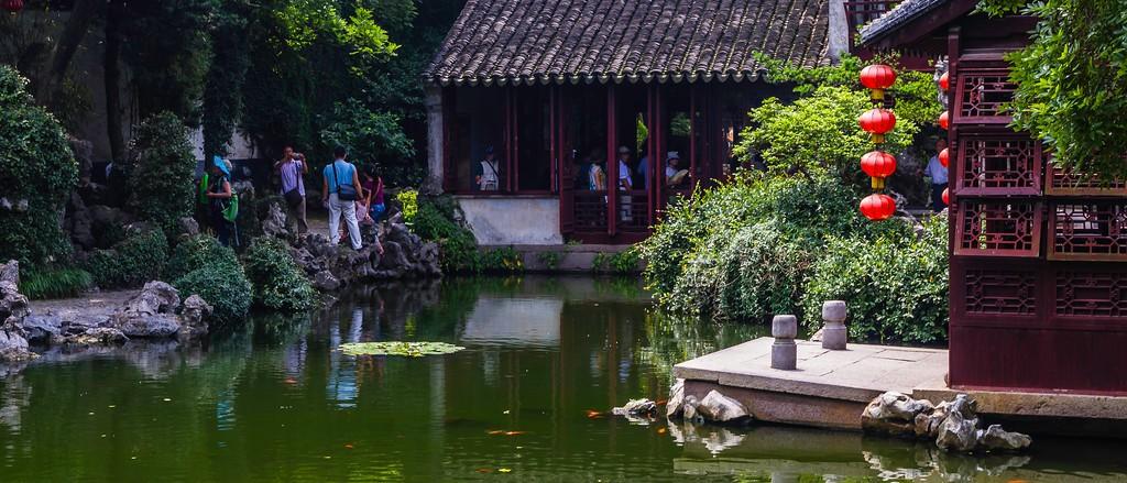 中国江苏同里,庭院美景_图1-8