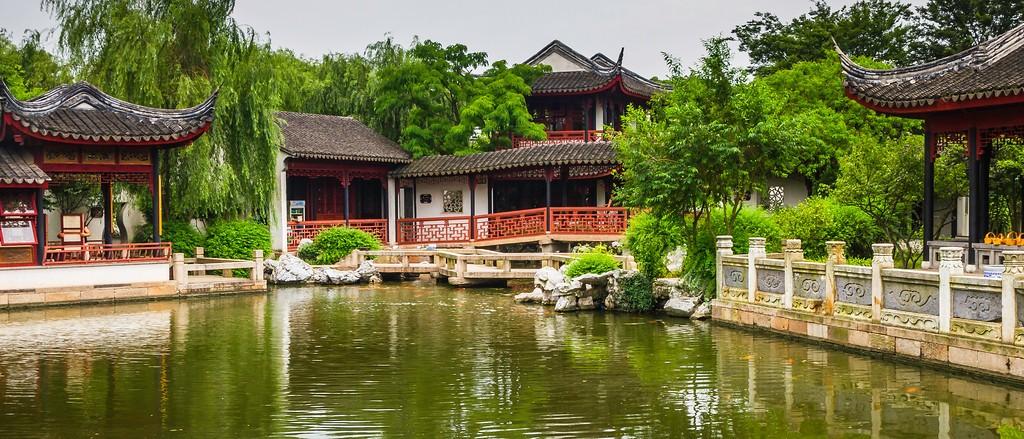 中国江苏同里,庭院美景_图1-7