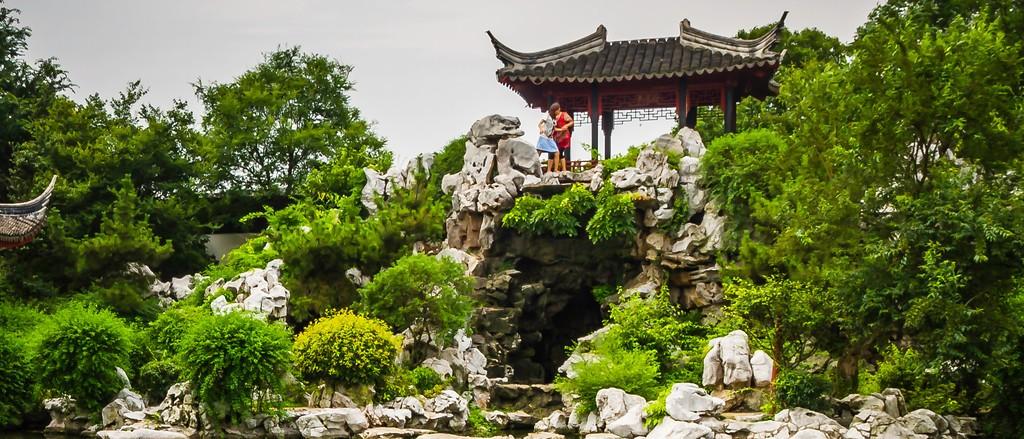中国江苏同里,庭院美景_图1-4