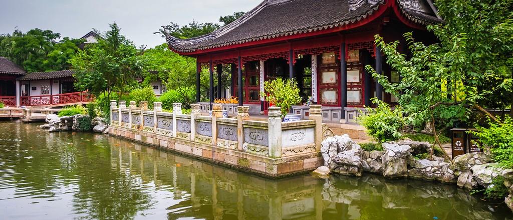 中国江苏同里,庭院美景_图1-12