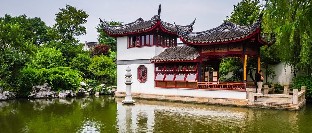 中国江苏同里,庭院美景_图1-11