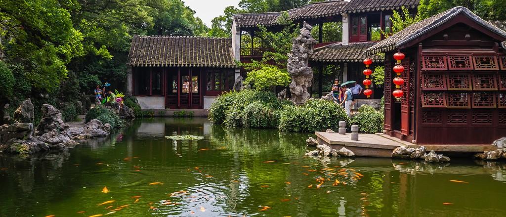 中国江苏同里,庭院美景_图1-10