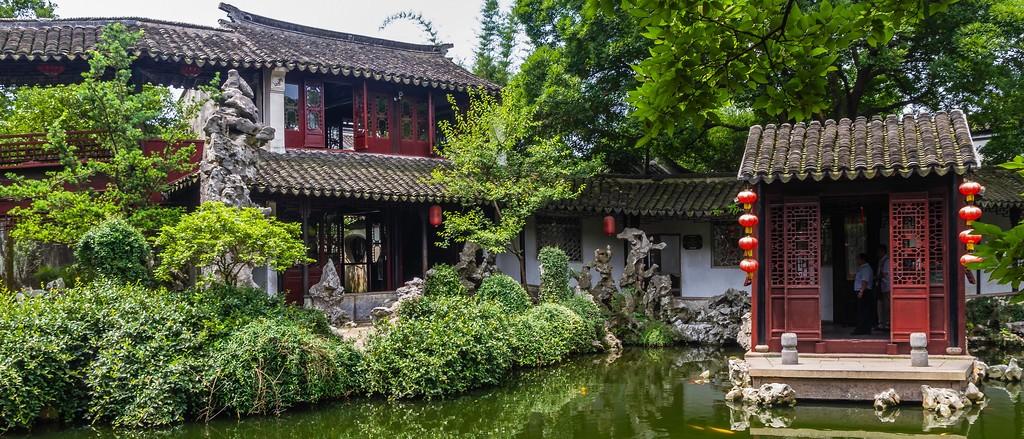 中国江苏同里,庭院美景_图1-13