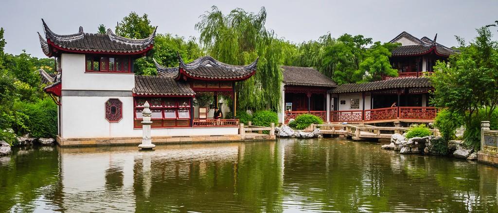 中国江苏同里,庭院美景_图1-14
