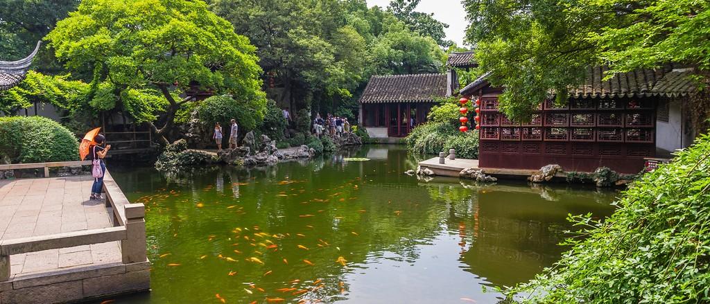 中国江苏同里,庭院美景_图1-17