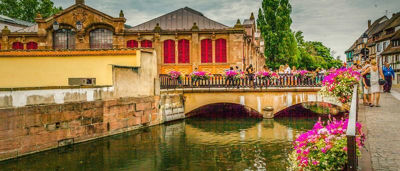 法国科尔马(Colmar),桥上看景_图1-11