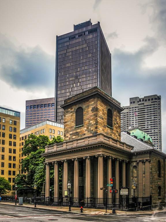 美国波士顿,唐人街的牌楼_图1-12