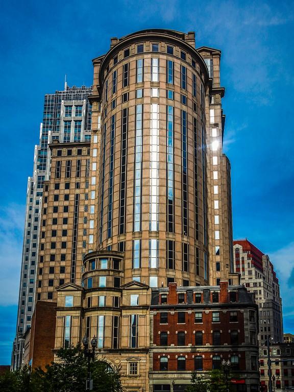 美国波士顿,唐人街的牌楼_图1-6