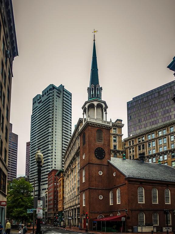 美国波士顿,唐人街的牌楼_图1-16