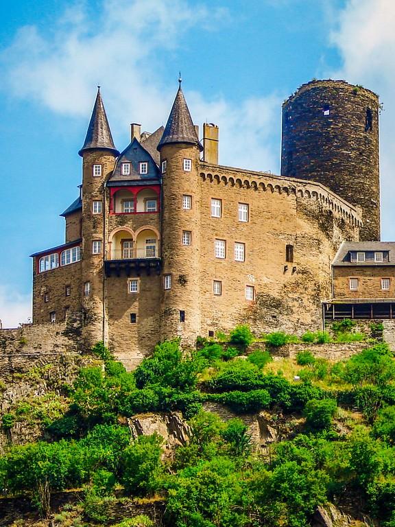 游莱茵河,两岸的城堡_图1-1