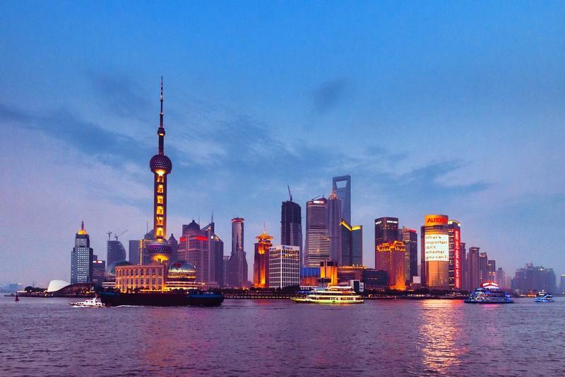 上海外滩,浪漫晚霞_图1-7