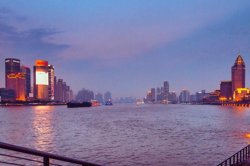 上海外滩,浪漫晚霞_图1-12