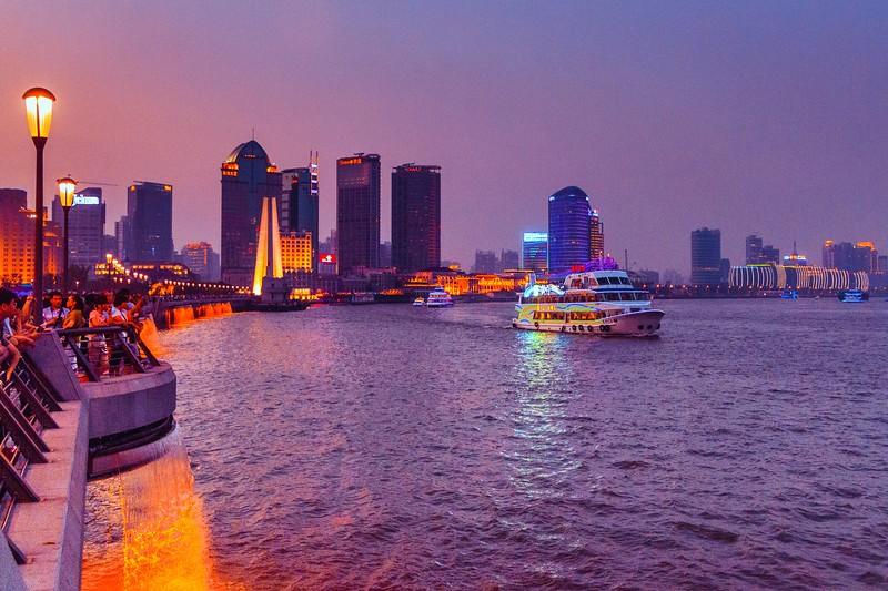 上海外滩,浪漫晚霞_图1-10