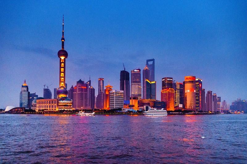 上海外滩,浪漫晚霞_图1-11