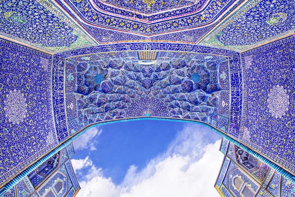 伊朗清真寺和宫殿的数码化制作_图1-1