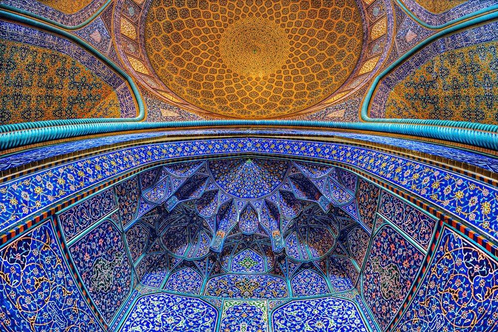 伊朗清真寺和宫殿的数码化制作_图1-3