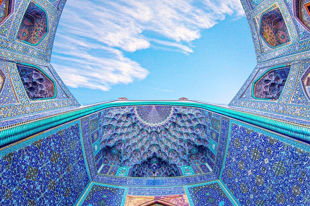 伊朗清真寺和宫殿的数码化制作_图1-7