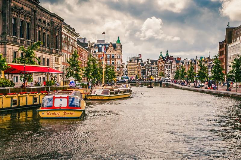 荷兰阿姆斯特丹,城市漫游_图1-4