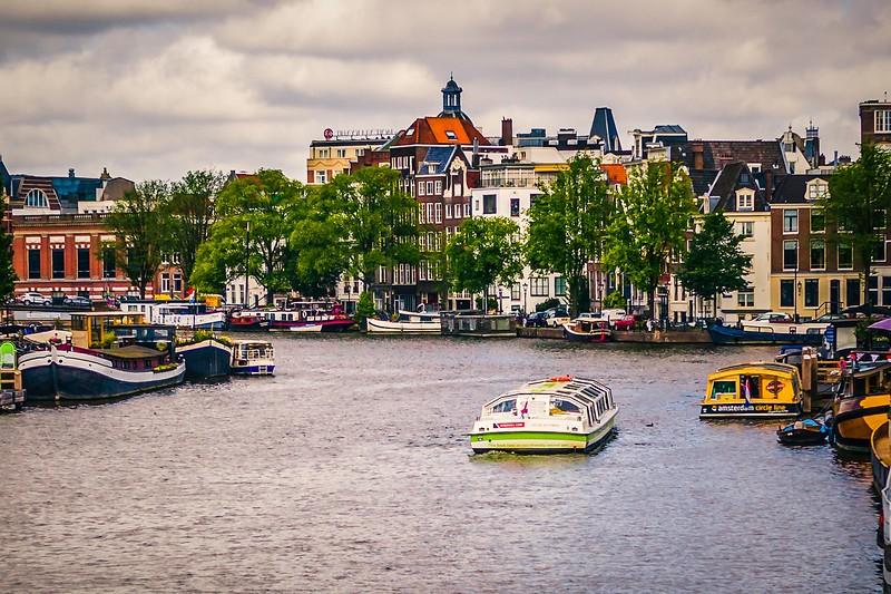 荷兰阿姆斯特丹,城市漫游_图1-6